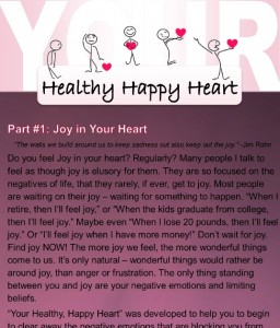 Your Healthy Happy Heart - Tapping Program Preview